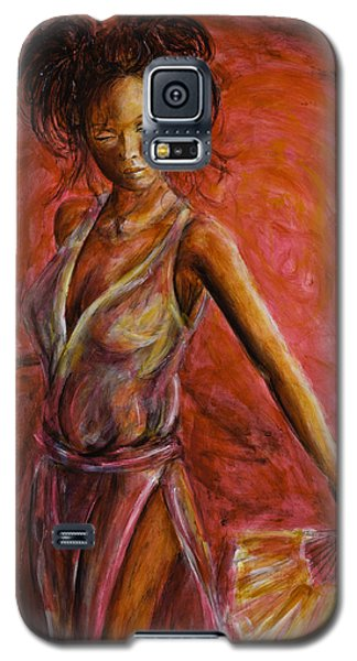 Geisha Fan Dance Galaxy S5 Case