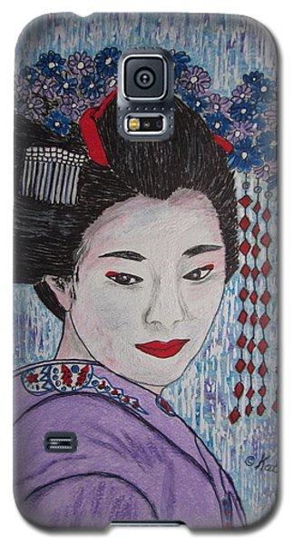 Geisha Girl Galaxy S5 Case by Kathy Marrs Chandler