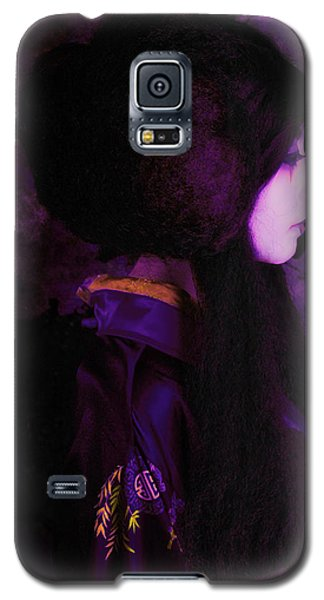 Geisha In Purple And Pink Galaxy S5 Case by Jeff Burgess