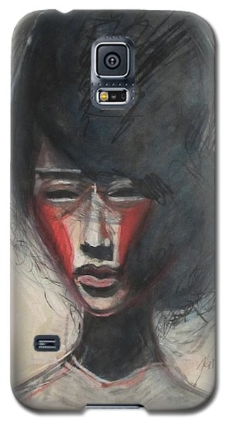 Geisha Make Up Galaxy S5 Case