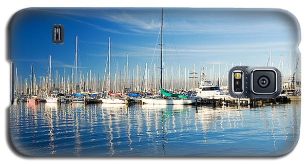 Galaxy S5 Case featuring the photograph Gem Pier Of Williamstown by Yew Kwang