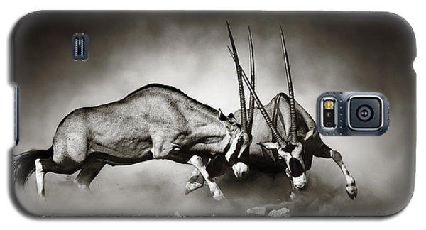 Gemsbok Fight Galaxy S5 Case