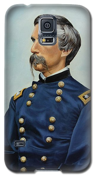 Galaxy S5 Case featuring the painting General Joshua Chamberlain by Glenn Beasley