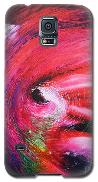 Galaxy S5 Case featuring the painting Genesis by Jeanette French