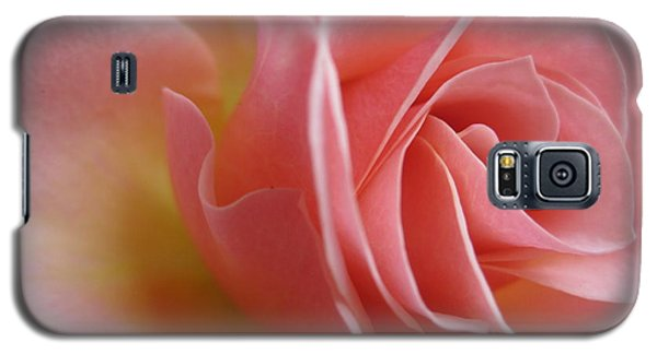 Gentle Pink Rose Galaxy S5 Case