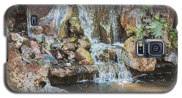 Gentle Waterfall With Sunbeam Galaxy S5 Case