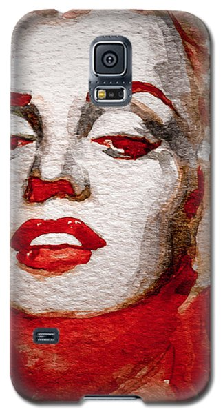 Galaxy S5 Case featuring the painting Gentlemens Prefer Blondes by Laur Iduc