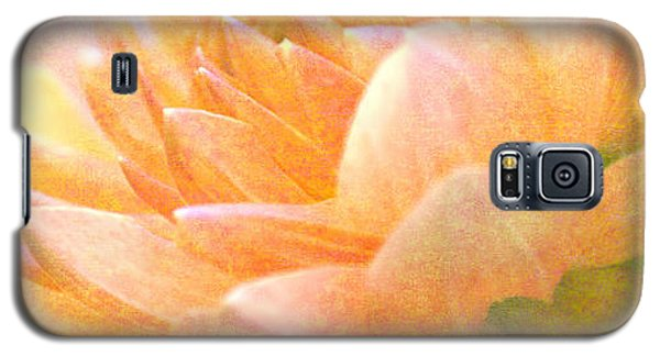 Gently Textured Dahlia  Galaxy S5 Case