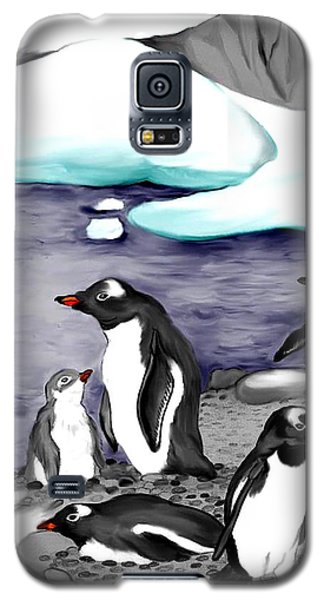 Gentoo Penguins Galaxy S5 Case