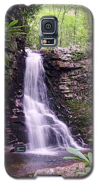 Gentry Creek- Upper Falls Galaxy S5 Case by Annlynn Ward