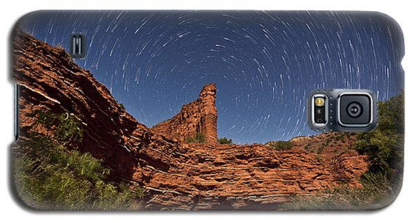 Geology And Space Galaxy S5 Case by Melany Sarafis