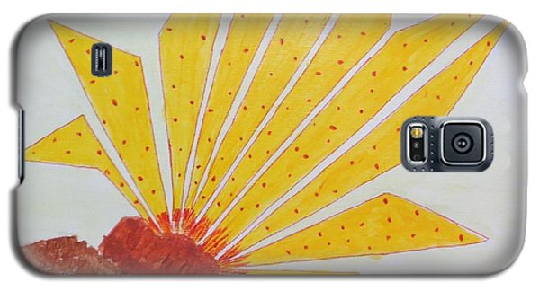 Geometric Blooming Lotus Galaxy S5 Case by Sonali Gangane