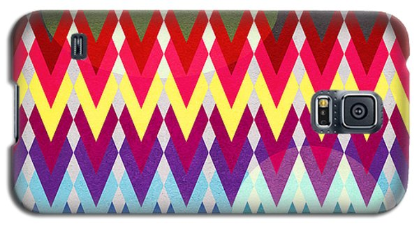Geometric Colors  Galaxy S5 Case by Mark Ashkenazi