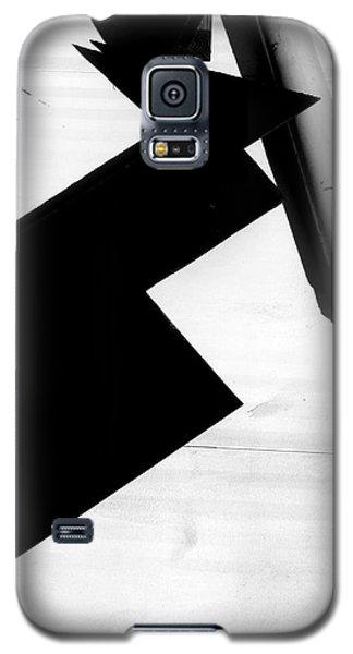 Geometric Shadow Galaxy S5 Case