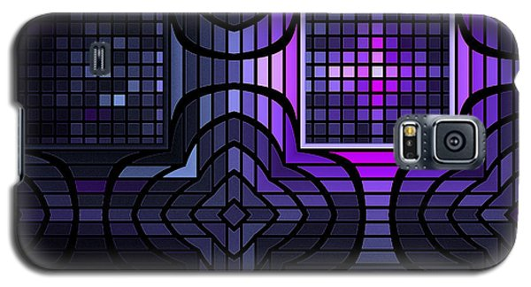 Galaxy S5 Case featuring the digital art Geometric Stained Glass by GJ Blackman
