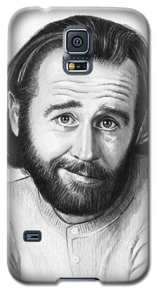 George Carlin Portrait Galaxy S5 Case