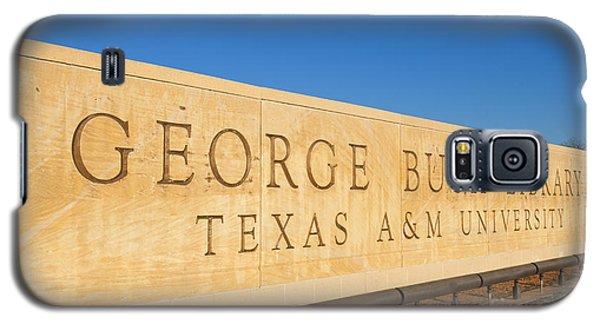 George Bush Galaxy S5 Case - George H. Bush Library, Texas by Bill Bachmann