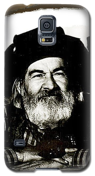 George Hayes Portrait #1 Card Galaxy S5 Case by David Lee Guss