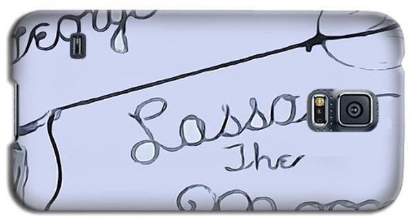 George Lassos The Moon Galaxy S5 Case