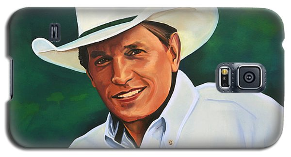 George Strait Galaxy S5 Case by Paul Meijering