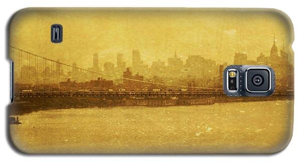 Galaxy S5 Case featuring the photograph George Washington Bridge by Debra Fedchin