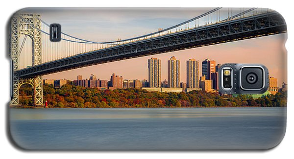 George Washington Bridge In Autumn Galaxy S5 Case