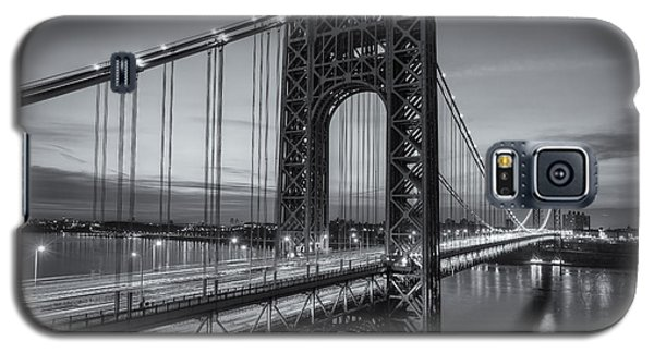 George Washington Bridge Morning Twilight II Galaxy S5 Case