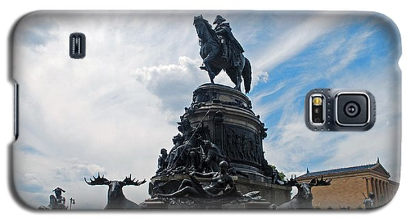 George Washington Statue Galaxy S5 Case