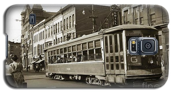 Georgetown Trolley E Market St Wilkes Barre Pa By City Hall Mid 1900s Galaxy S5 Case