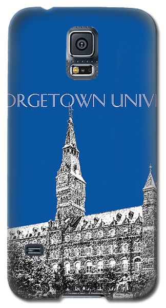Georgetown University - Royal Blue Galaxy S5 Case by DB Artist