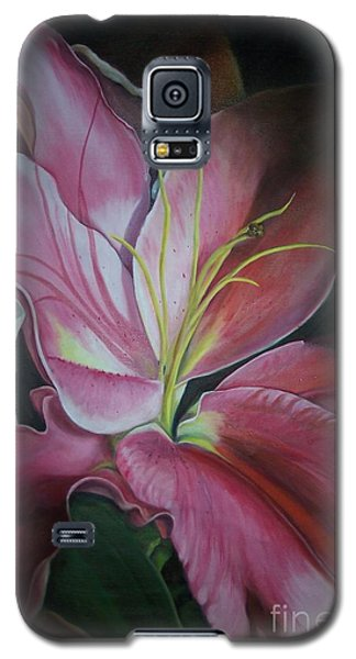 Galaxy S5 Case featuring the painting Georgia On My Mind by Marlene Book