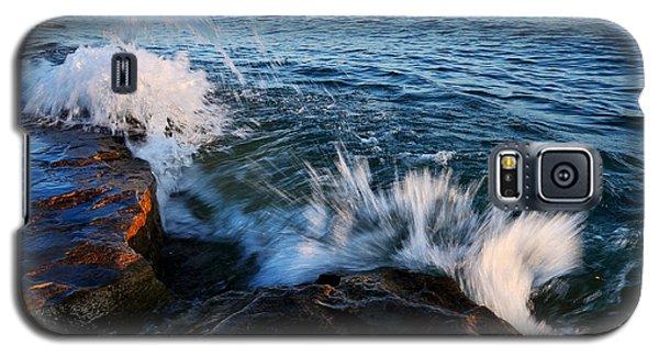 Georgian Bay Shore Surf Galaxy S5 Case