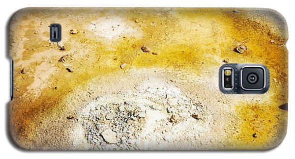 Detail Galaxy S5 Case - Geothermal Area Detail Iceland by Matthias Hauser