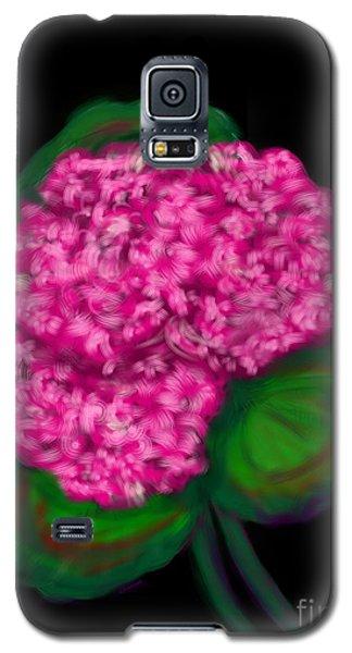 Galaxy S5 Case featuring the digital art Geranium by Christine Fournier