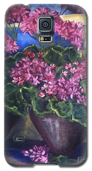 Geraniums Blooming Galaxy S5 Case