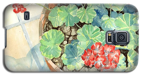 Geraniums Galaxy S5 Case