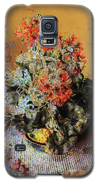 Geraniums Galaxy S5 Case
