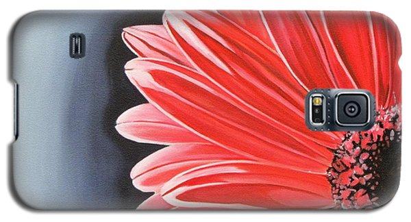 Gerber Daisy Galaxy S5 Case by Kevin F Heuman