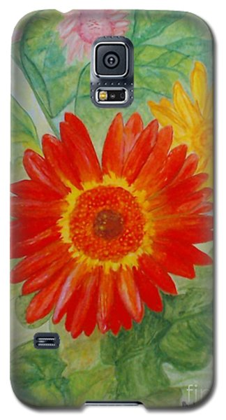 Gerbera Delights Galaxy S5 Case