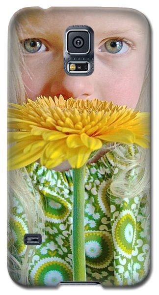 Gerbera Girl Galaxy S5 Case