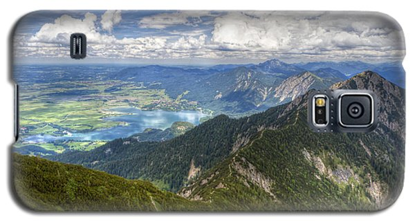 Galaxy S5 Case featuring the photograph German Alps View I by Juergen Klust