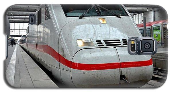 German Ice Intercity Bullet Train Munich Germany Galaxy S5 Case