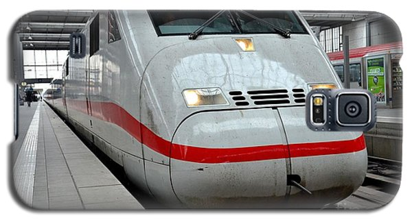 German Ice Intercity Bullet Train Munich Germany Galaxy S5 Case