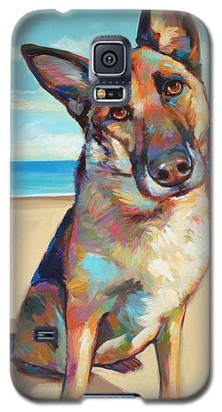 German Shepard  Galaxy S5 Case by Robert Phelps
