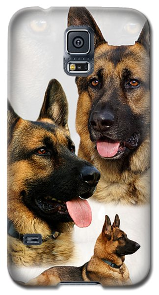 German Shepherd Collage Galaxy S5 Case