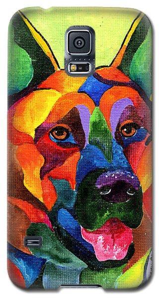 German Shepherd Galaxy S5 Case by Sherry Shipley