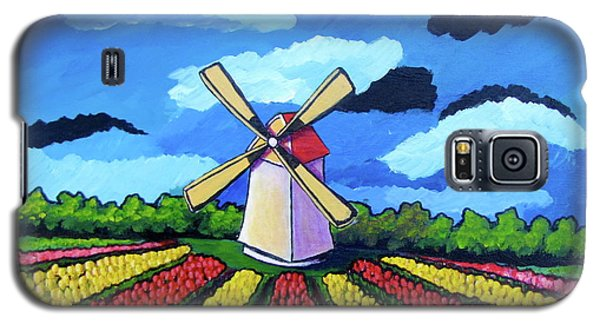 German Tulip Field Galaxy S5 Case