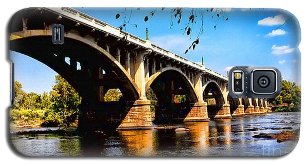 Gervais St Bridge Galaxy S5 Case by Patricia L Davidson