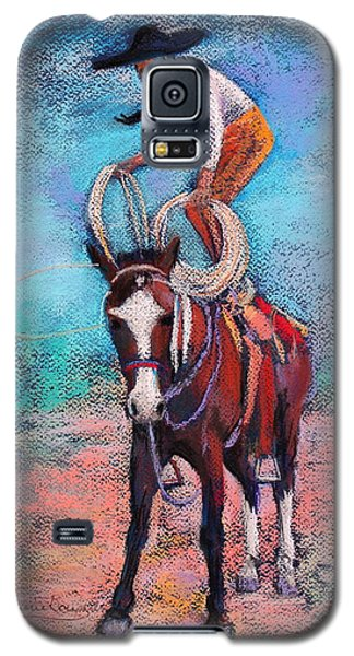 Galaxy S5 Case featuring the painting Get Ready by M Diane Bonaparte
