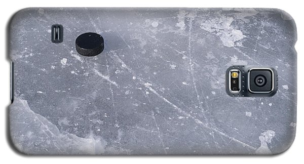 Get The Puck Outta Here Galaxy S5 Case by Steven Ralser